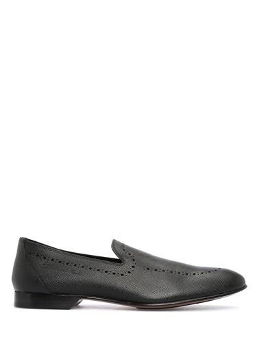 %100 Deri Loafer Ayakkabı-Dolce&Gabbana